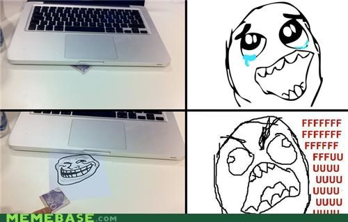money Rage Comics Sad troll - 5276667904