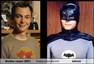 Sheldon cooper (BBT) Totally Looks Like batman