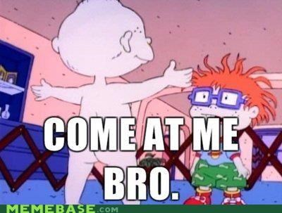 come at me Memes nickelodeon pickles rugrats television tommy - 5277153536