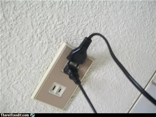 electrical fire,electricity,outlet,stupidity