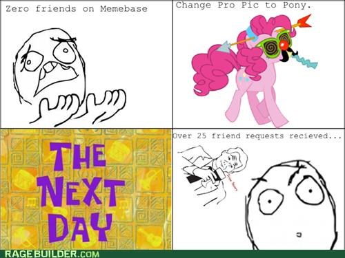 comics,memebase,next day,pic to pony,Rage Comics,the herd