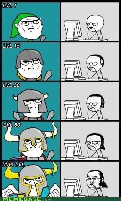 classic hero meter nerd Rage Comics world of warcraft