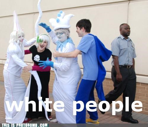 best of week cosplay excuse me ghost Street Bomb white people - 5277383168