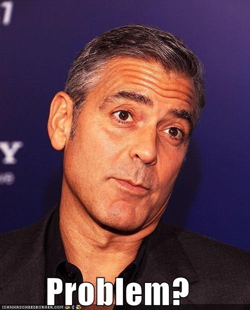 actor,celeb,funny,george clooney,sexy
