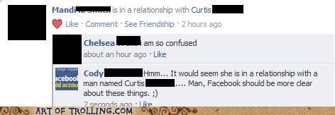 clarity,confused,facebook,relationship