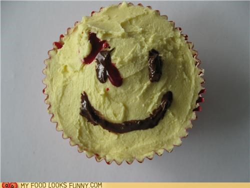 cupcake,iconic,smiley face,watchmen
