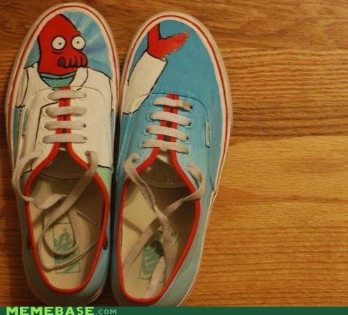 fashion,shoes,what homemade,Zoidberg