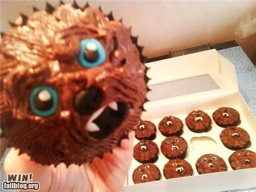 chewbacca cupcakes food nerdgasm star wars - 5277794560