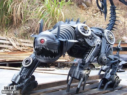 art cars junk nerdgasm pop culture sculpture transformers - 5277814528