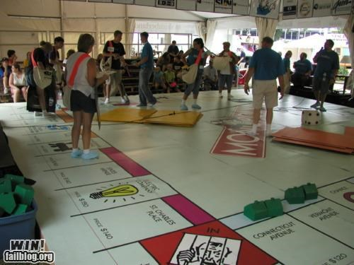 board game,huge,life size,monopoly,parker brothers