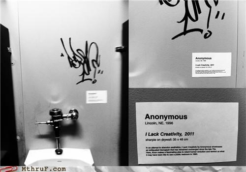 art bathroom graffiti sign - 5277932800