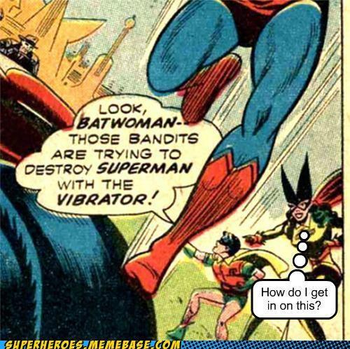 batwoman Super-Lols superman vibrator wtf - 5278193152