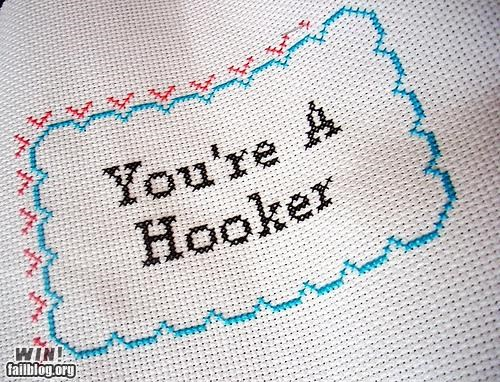 craft,cross stitch,hobby,Knitta Please,knitting,pun