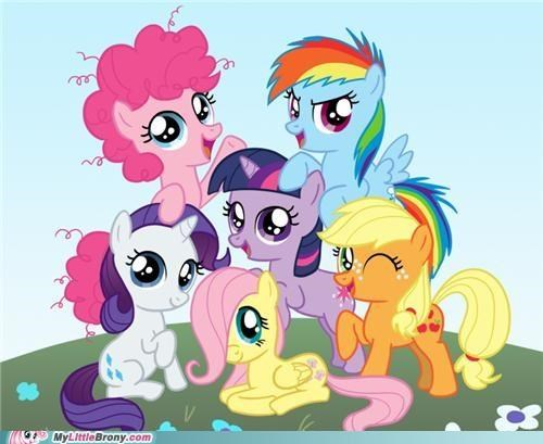 best of week fillies mane 6 my little ponies ponies title cover - 5278904320