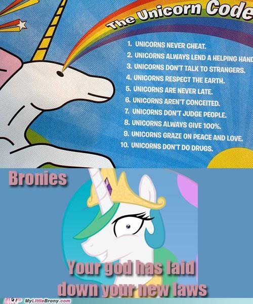 Bronies celestia graphscharts new rules unicorns - 5279376640