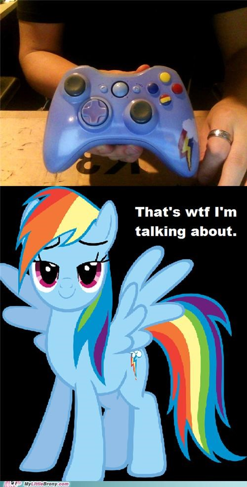 20 Percent Cooler For the Dudes gaming rainbow dash video games xbox - 5279555072