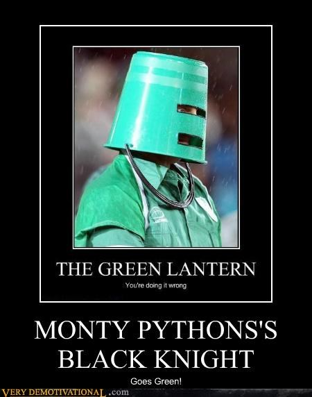 black knight green monty python Pure Awesome wtf - 5279658496