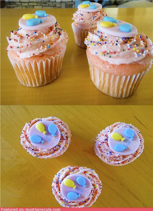 Pinkie Pie's Strawberry Surprise Cupcakes