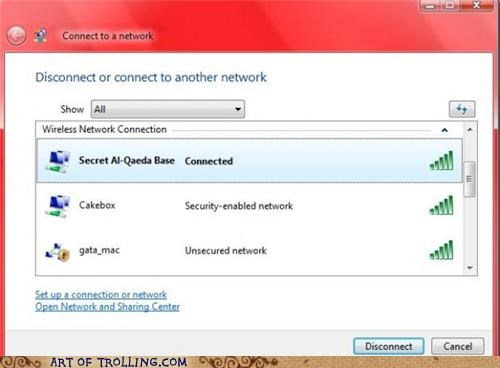 al quaeda secret wifi