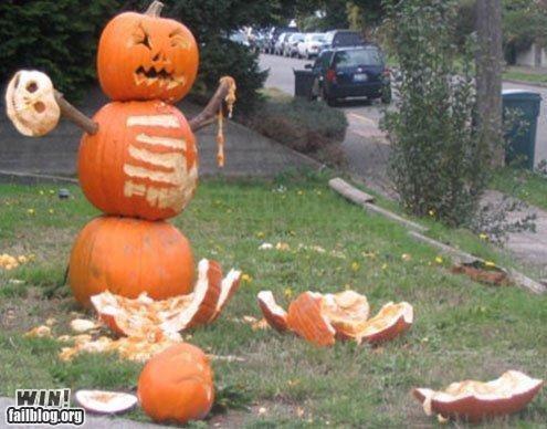 art carving clever halloween pumpkins sculpture - 5280763392