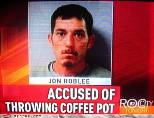 coffee pot crime,not a criminal,not fair
