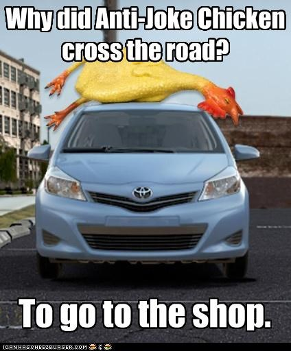Why Did Anti Joke Chickencross The Road Cheezburger Funny Memes