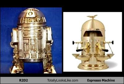 coffee espresso machine r2d2 robot star wars