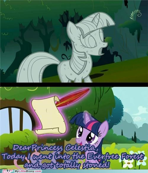 comics dear princess celestia lesson learned letter stoned - 5281391616