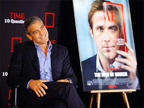 10 Questions,george clooney,Ryan Gosling,The Ides of March,time