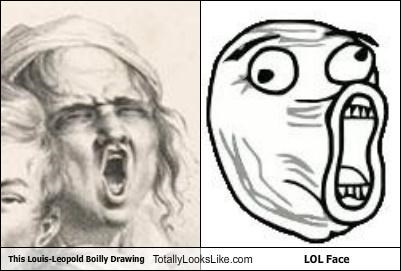 artists drawing lol face louis-leopold boilly meme meme faces