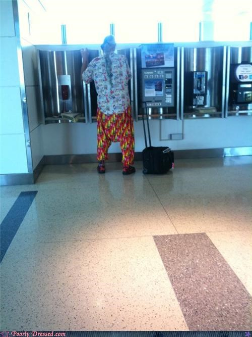 airport,color,hippie,low rider,patterns,ponytail,saggin,sagging
