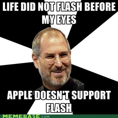 apple,eyes,flash,life,Scumbag Steve Jobs,steve jobs