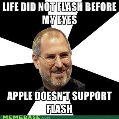 apple eyes flash life Scumbag Steve Jobs steve jobs - 5282144512