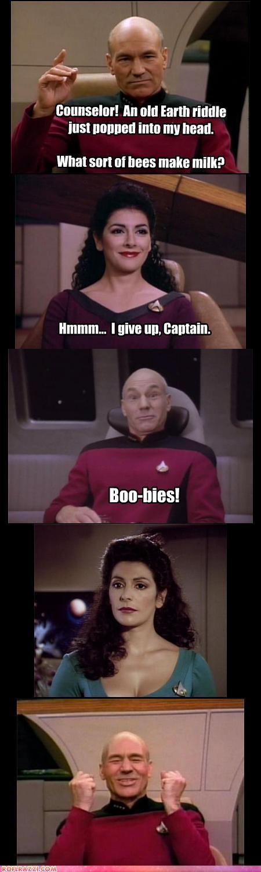 actor celeb comic funny patrick stewart Star Trek TV - 5282267648