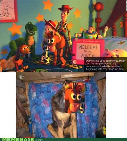 bulls-eye Depression Dog disney movies pixar toy story - 5282315008