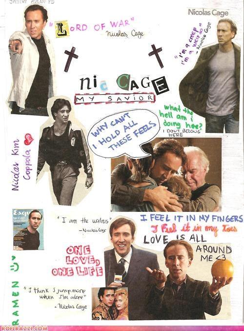 actor art celeb funny nic cage nicolas cage - 5282421248