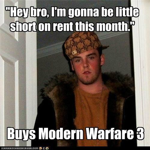 3 modern warfare money rent Scumbag Steve video games - 5282516736
