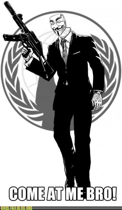 anonymous,bro,come at me bro,Daniel Craig,james bond,Photo