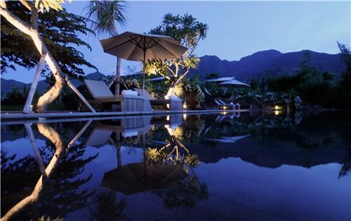bali getaways indonesia night night photography pool relaxing resort southeast asia villa water - 5282596864