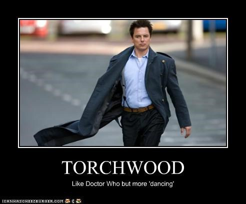 Captain Jack Harkness dancing john barrowman Torchwood - 5283097600