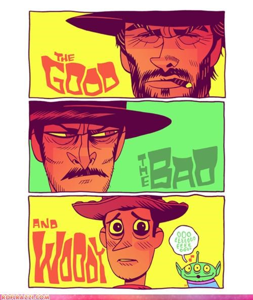 art,Clint Eastwood,cool,funny,Movie,toy story