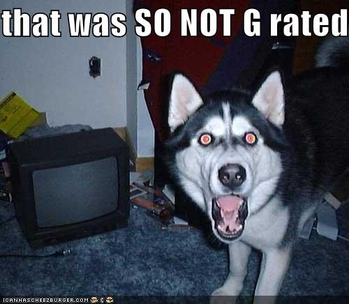 amazed appalled bad news bears husky no way not g rated shocked uh oh you're going to be in trouble - 5283662080
