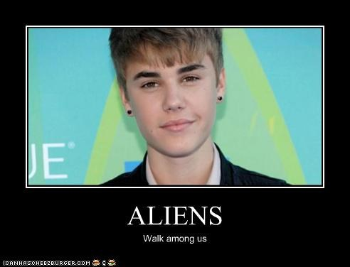 ALIENS Walk among us