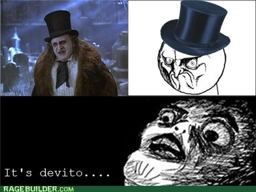 batman,devito,no,Rage Comics,The Penguin