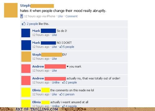 abrupt,change,facebook,mood
