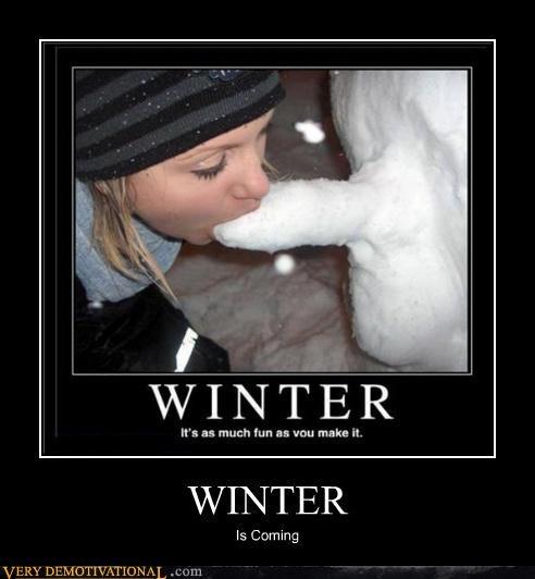 Game of Thrones hilarious no no tubes snow man - 5284367104