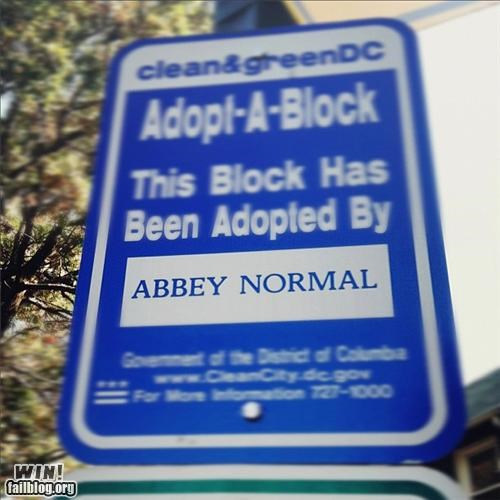 adoption halloween road sign young frankenstein - 5284827648