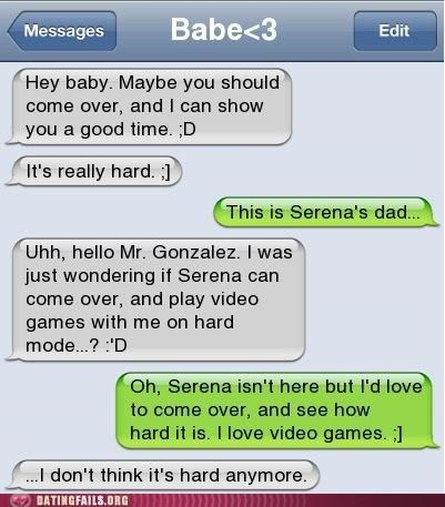 dad Father text texting video games We Are Dating - 5284938240