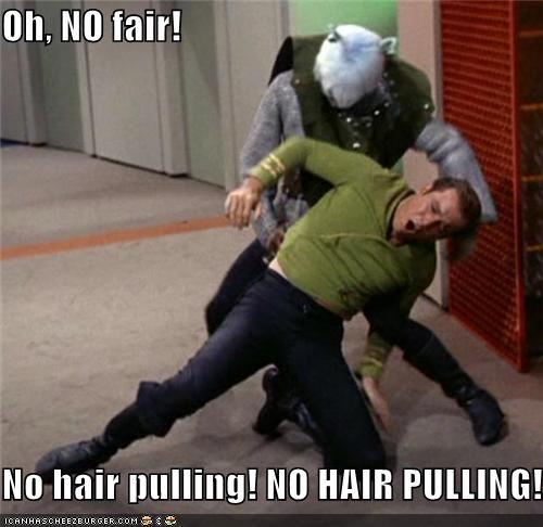 Captain Kirk hair pull Shatnerday Star Trek William Shatner - 5284996352