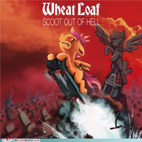 bat out of hell crossover meatloaf not clop Scootaloo - 5285262080